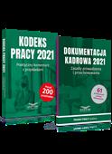 Komplet: Kodeks pracy 2021 + Dokumentacja kadrowa 2021