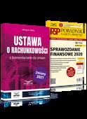 Komplet: Ustawa o rachunkowości + Sprawozdanie finansowe 2020