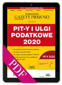 PIT-y i ulgi podatkowe 2020. Rozliczenie podatkowe (PDF)