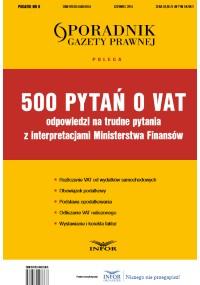 500 pytań o VAT